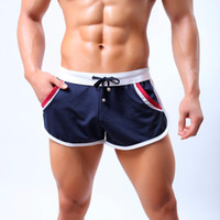 beach side homes - Summer Men s Quick Dry Comfy Drawstring Breathable Beach Home Shorts Trunks With Side Pouch For Male