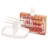 Wholesale Microwave Bacon Cooker The Original Makin Bacon Microwave Bacon Rack Reduces Fat up to
