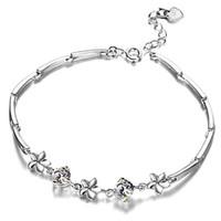 Wholesale lingdong fashion brand S925 sterling silver fashion temperament bracelet Cherry shape inlaid AAA Zircon Lady bracelet