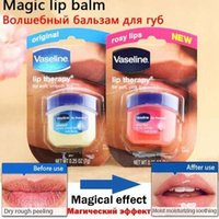 Wholesale Good quality with best price VASELINE LIP BALM THERAPY ROSY SOFT PURE PETROLEUM JELLY BALM FRAGRACE g
