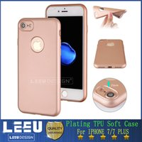 apples silicone oil - Luxury Silicone Plating TPU Case for iphone plus Slim Soft precise hole TPU Case Protect Camera Full Cover Good Oil Handle Feeling