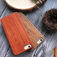 apple wood blanks - 100 Wooden Hard Phone Cover For Iphone Customized Blank Wood PC Mobile Phone Case For Apple s plus Bamboo Shell
