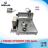 Wholesale LY Z VFD800W USB axis mini CNC engraving machine assembled ship to Russia free tax