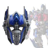 achat en gros de lueur jouets pour les garçons-Personnages personnalisés PP 25x17x7cm Glow Children Halloween Boy Toy Stage Dress Up Party Transformers Mask