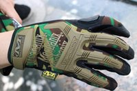 army work gloves - New Arrival MECHANIX Wear Tactical Gloves for Combat Work Army Military Racing Leather Motocross Gloves Colors S XL