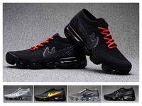air max shox - 2017 New Arrival Air VaporMax Woman Mens Shox Shoes Running Shoes Fashion Airs Casual Vapor Maxes Sports Sneakers Size