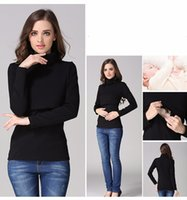 Wholesale Fashion Maternity Clothes Maternity Tops t shirt Breastfeeding shirt Nursing Tops pregnancy clothes for pregnant women