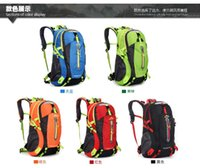 Wholesale New outdoor mountaineering bag female camping riding bag male L Travel Backpack waterproof travel bag