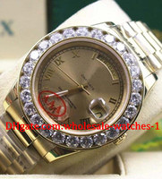 big machinery - Luxury Top Quality Automatic machinery watches Ladies MENS big diamond wristwatch gold Stainless steel strap gold dial mm mm With da