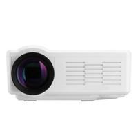 av atv - Mini projector Lumens Brightness BL LED Projector LCD HD Home Theater Cinema Support USB SD VGA HDMI AV ATV New
