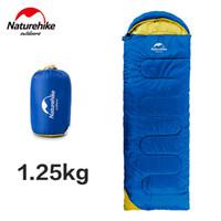Wholesale Retangular Ultralight Camping Sleeping Bag M Adult Cotton Filler Envelope Outdoor Camping Hiking Sleeping Bags