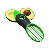 Wholesale Good Grips IN Avocado Slicer With Knife Pitter Peeler And Scoop Kitchen Utensil Tool Scoop fruit knife slicer Peeler Cutter Fruit