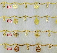 Wholesale Gold Plated Bracelet Jewelry Fashion exquisite bracelet Czech personality pattern drill and accessories Type love accessories