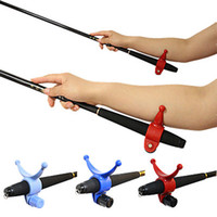Wholesale Random Colors ABS Material Fishing Rod Arm Holder Adjustable Fishing Landing Net Support Forearm Relaxer Accessory