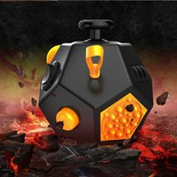 Wholesale 2017 New Novelty Version Fidget Cube the world s first American decompression anxiety Toys colors DHL