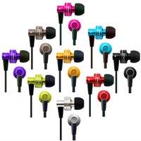 Auricular estéreo de Awei con el cable plano del micrófono auricular estupendo del aislamiento del ruido del sonido del bajo para el paquete al por menor androide de Samsung del iphone