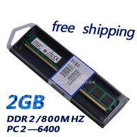 Wholesale high quality DDR2 GB mhz PC rams G DDR ram memory for desktop pc only for AMD motherboard