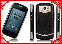 Precio de 3g usb libre-El teléfono elegante impermeable IP68 del teléfono elegante de Doogee DG700 3G dirige 4.5 la ROM del RAM del teléfono celular 1GB 8G libera el envío