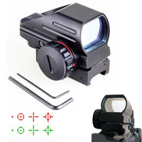 Wholesale Hunting Optics x22x33 Compact Reflex Red Green Dot Sight scope Reticle Sight for Airsoft With Weaver mm Mount
