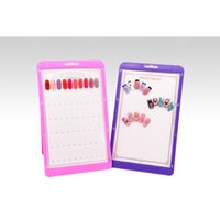 Wholesale Hongnuo Nail color swatches the polish glue color swatches display model dust color display shelf Moq