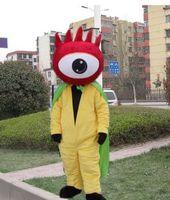 alien fancy dress - 2017 Hot Sale Adult Mascot costume Top Selling One eyed alien Cute Cartoon Costume Fancy Dress Animal Party Mascot Costume Free Ship