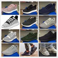 b sportswear - 2017 Mens Womens Originals Tubular Shadow Knit Core Black White Cardboard D Sneakers Running Shoes Sportswear Sneakers