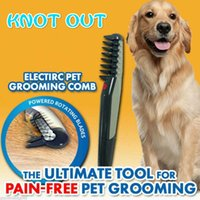 Wholesale Electric Pet Pain Free Groomig Comb the Ultimate Tool for your dog and cat of their long short thick hair