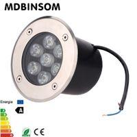 spotlight floor lamp - Waterproof LED Underground Light W Floor Led Lamp Inground Lights IP67 Recessed Garden Lighting Grond Spotlight Decor AC85 V