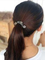 Wholesale South Korea Zouari hair rope East Gate delicate diamond Tousheng rubber band crystal ornaments polygon head ornaments