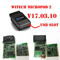 Wholesale wiTECH MicroPod Diagnostic Tool V17 For Chrysler Support Multi Languages Chrysler latest diagnostic interface by dhl shipping