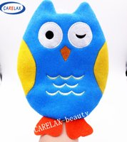colorful better towels - Bath Sponge Kids Cartoon Animals Bath Gloves Blister towel Better Bodies Pure cotton For Children Toy Without Stimulation