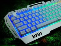 Wholesale Professional USB DPI Gaming Wired Keyboard and Mouse Set For PC Laptop Computer Multimedia Pro Gamer