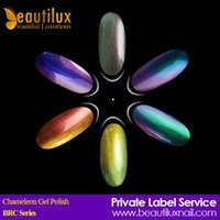 Wholesale 6pcs Long Lasting ml Newest Chameleon Nail Gel Soak Off UV LED Gel Polish Lacquer
