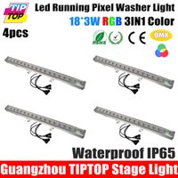 auto door closer - Freeshipping Pack x3W RGB IN1 Pixel Led Wall Washer Light Open Close Door Effect Stage Bar Light Pixel LED Strip LCD Screen