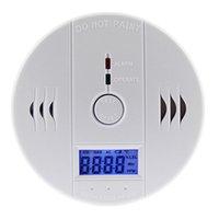 Wholesale EN50291 CO Carbon Monoxide Poisoning Gas LCD Sensor Alarm