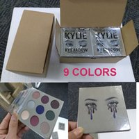 Wholesale New Kylie Holiday edition Kyshadow palette and Kyshadow palette burgundy Eyeshadow Colors Eye Shadow palette