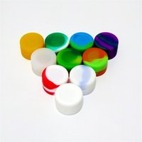 Wholesale New Silicone NO GOO Stick Container ml Silicone Jars Food Storage Container Screw Top