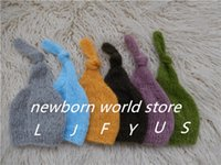Wholesale newborn photography props hat