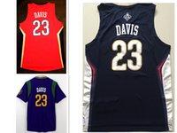 anthony davis jersey - 2016 Mens Stitched Swingman SW Anthony Davis Retro Embroidered Jersey