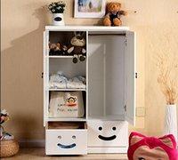 bedroom closet sliding doors - Cartoon baby closet door storage storage cabinets solid wood bedroom furniture wardrobe sliding door children pine