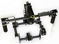 aluminum helicopter - 3K Carbon Fiber Aluminum Axis Handle Stable Stabilization Brushless Gimbal With Motor BASECAM Controller JMT F07544