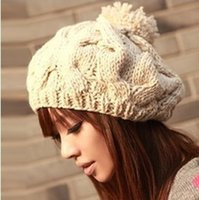 adult poetry - New Poetry Dan Kaiser Hat Ms Han Edition Warm Wool Woolen Cloth Cap In The Fall And Winter Of Rabbit Hair Baotou Cap