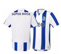 Wholesale top Thai quality porto Adultos Dos Homens de Manga Curta Camisa Camisa Kit Camiseta Maillot camisa de futebol running jersey