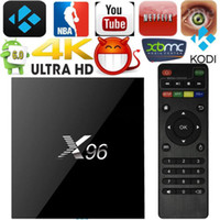 Wholesale X96 S905X KODI FULLY Loaded Android Smart TV BOX K Movies GB G