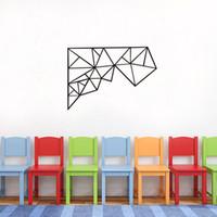 Estrella Linear Wallpaper Geometrical Pattern Series Produits Décoration intérieure Stickers muraux Autocollants Simple Fashion Decoration Livraison gratuite