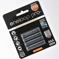 Wholesale 4x Eneloop Pro mAh AAA High Capacity Rechargeable Batteries New MH cycle Made in Japan