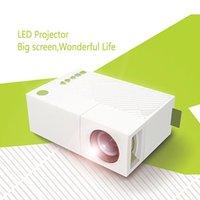 Vente en gros Mini Projecteur LED Home Cinéma Projecteur Vidéo Cinéma Connect Smart Cellphone / Tablet Disponible Via AV / VGA / USB / SD / HDMI Entrée