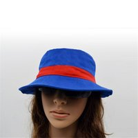 Wholesale Designer Womens Wide Brim Hats Fashionable Adjustable Campaniform Litter Bucket Caps for Resort Beach Sun Protection