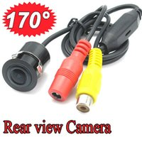 Wholesale 170 Waterproof Night Vision Car Reverse Backup Parking Camera Rear View Drill