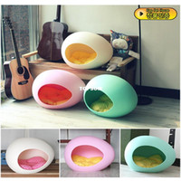 Wholesale Eco friendly plastic egg kennel cat house dog house summer pet tent high quality easy to clean